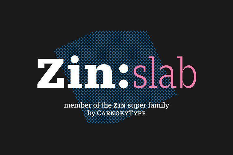 Zin-Slab-Font-Family