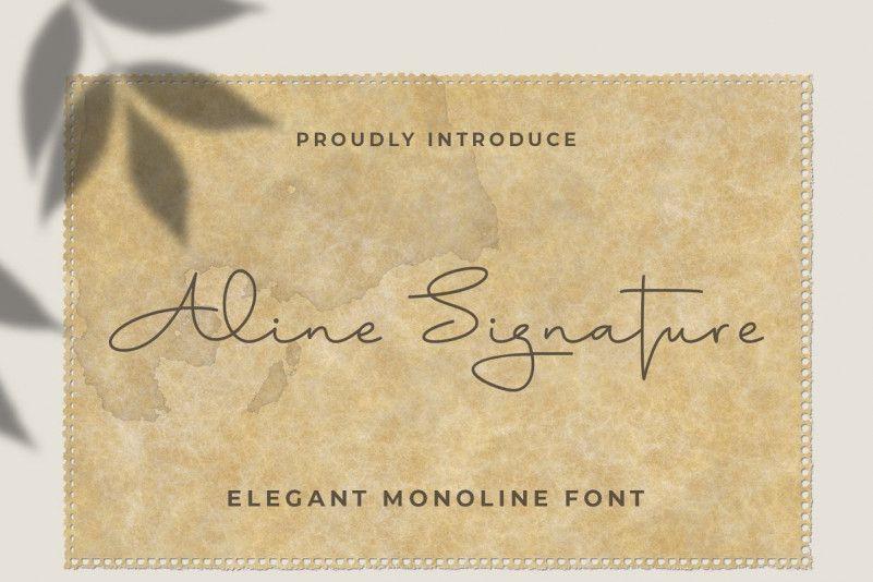 aline-font