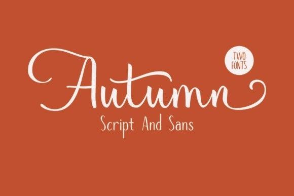 Autumn Mood Script Font