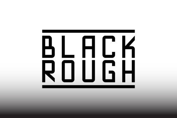 blackrough-font
