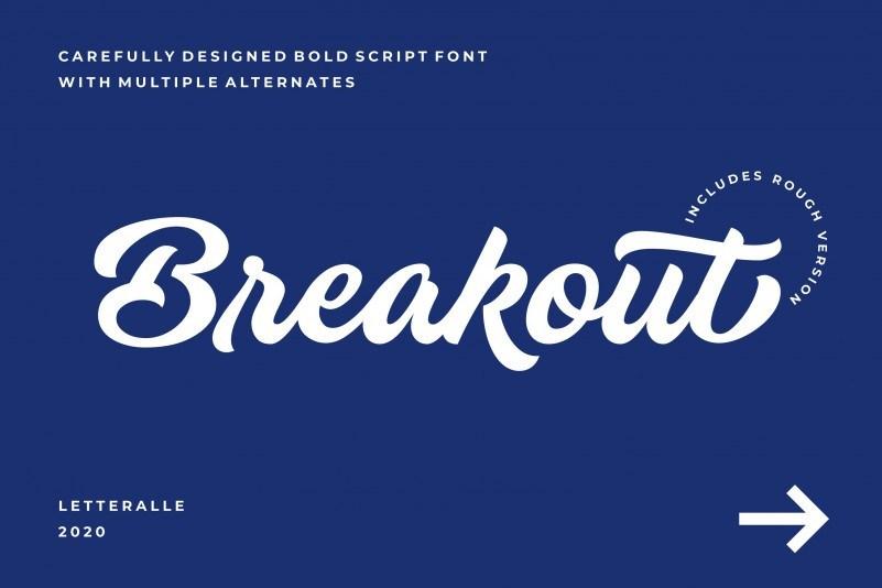 breakout-font