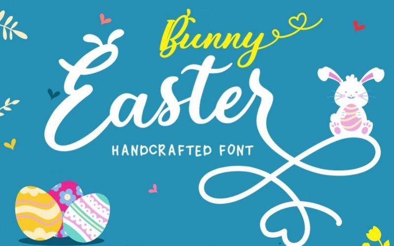 bunny-easter-font-1