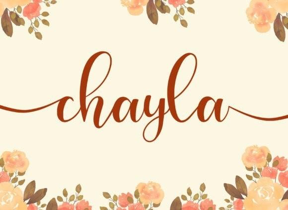 chayla-font