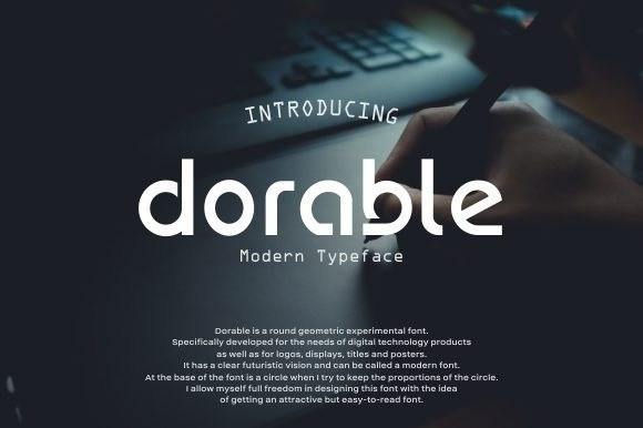 Dorable Display Font