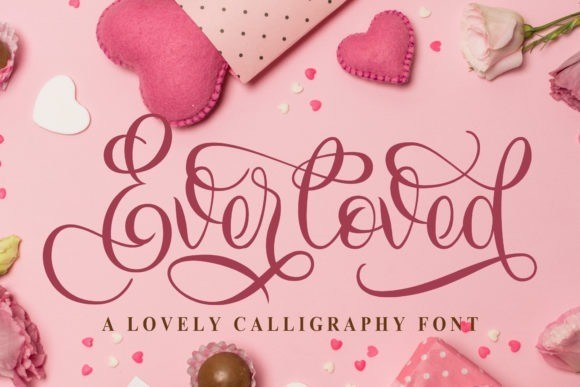 Everloved Calligraphy Font