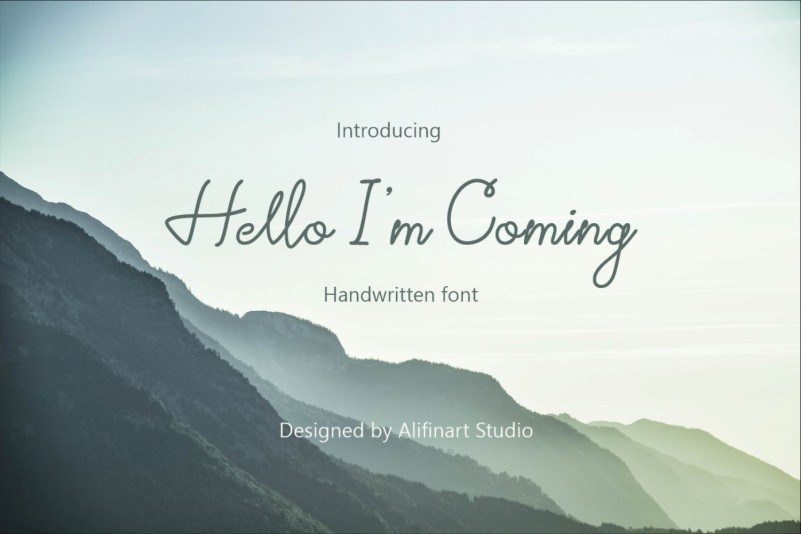 hello-im-coming-font