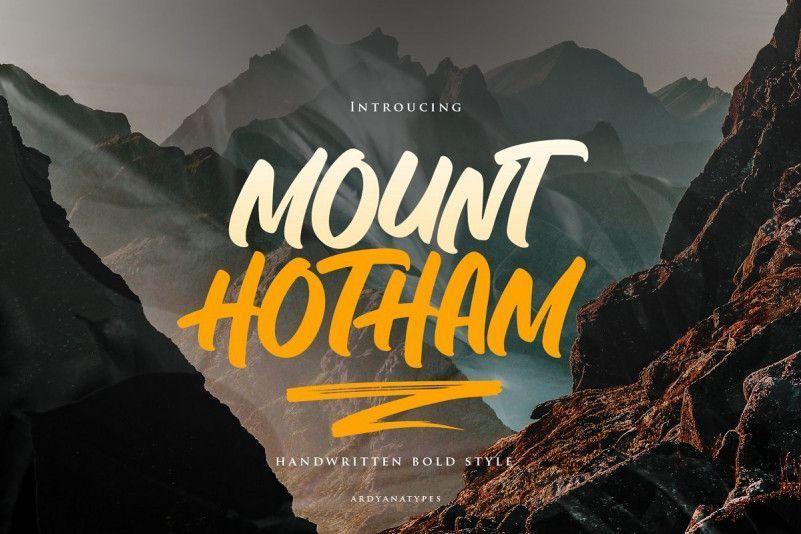hotham-font