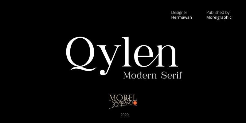 qylen-serif-font