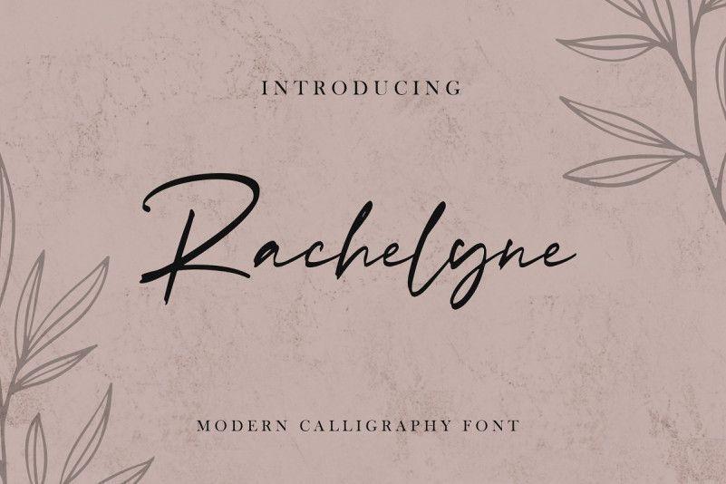 rachelyne-modern-calligraphy-font