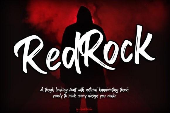 Red Rock Script Font