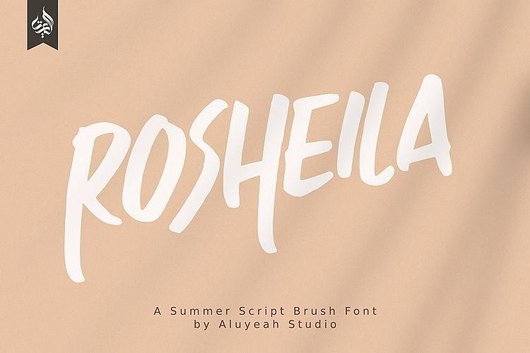 rosheila-font