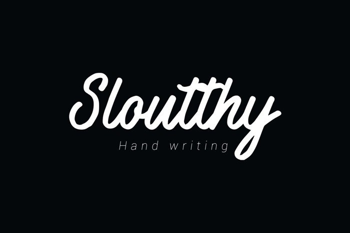 sloutthy-font