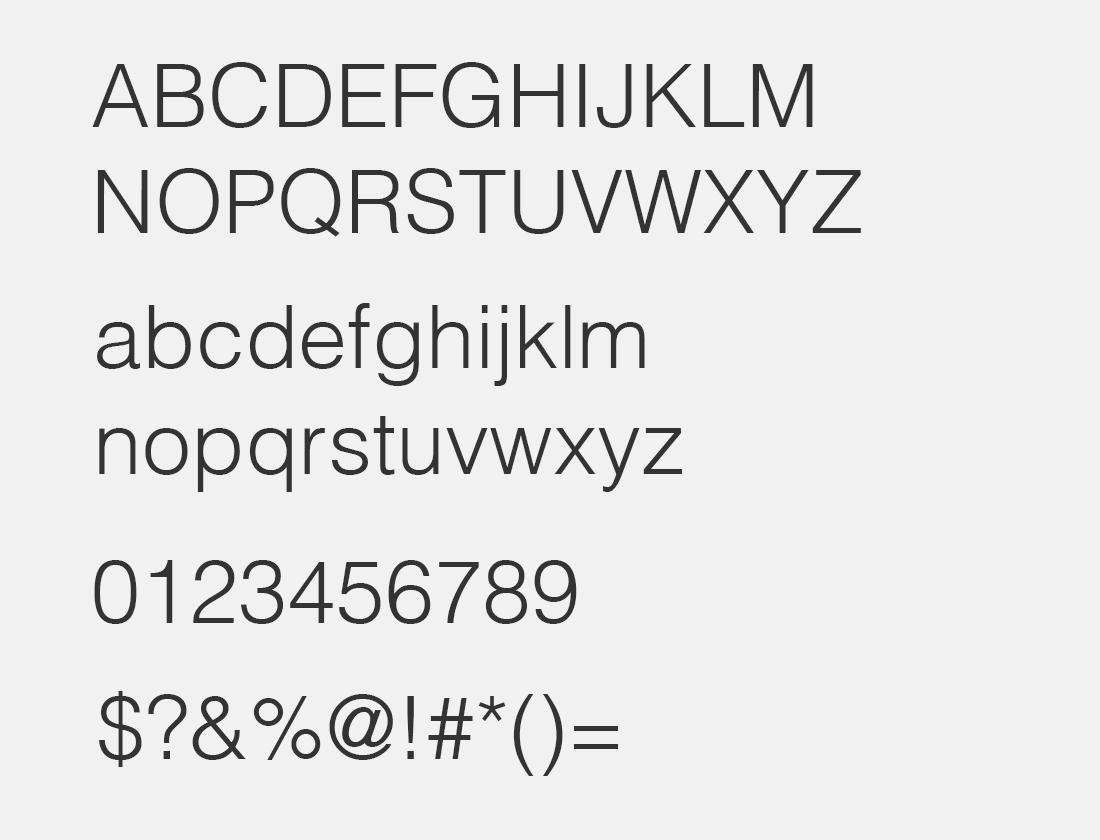 5 HelvLight Regular font
