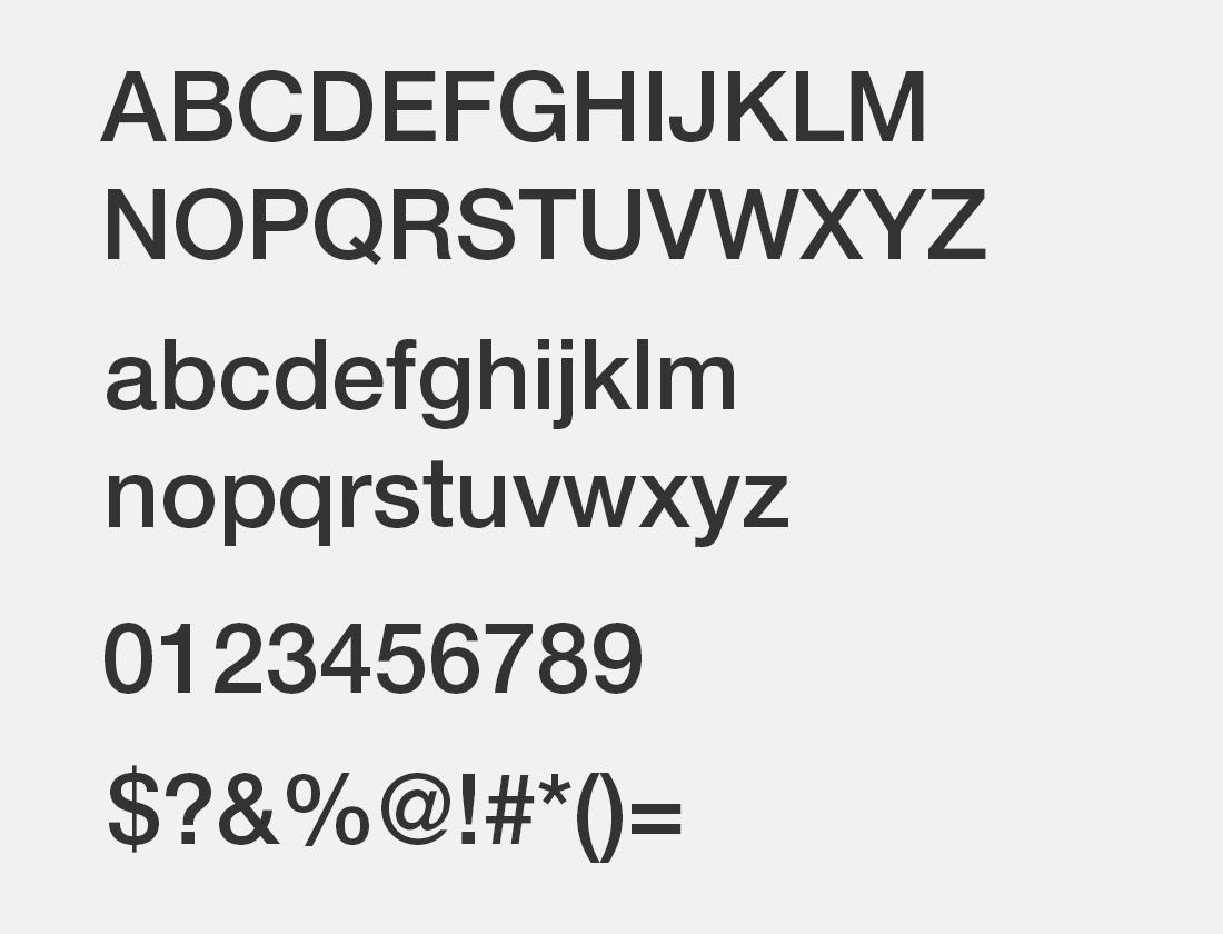 9 HelveticaNeueLTPro-Md font