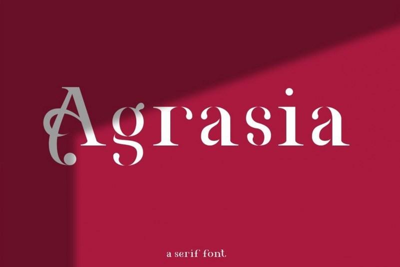 Agrasia-Font-1