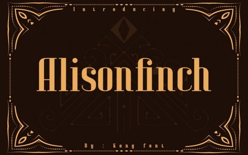 Alison-Finch-Display-Font-1