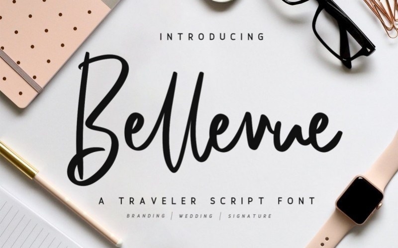 Bellevue-Traveler-Script-Font-1
