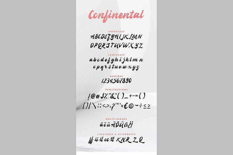 Confinental-Retro-Script-font-3