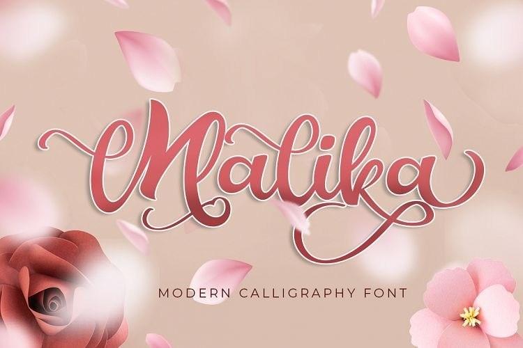 Malika-Script-Font