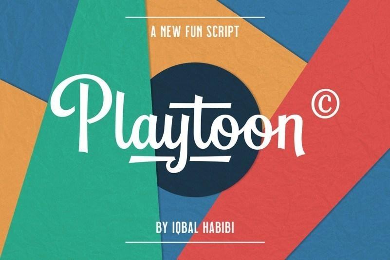 Playtoon-Font-1