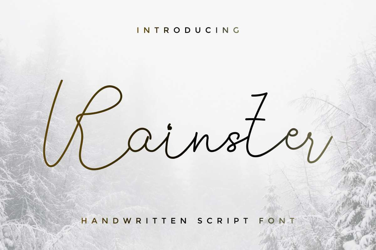 Rainster-Handwriting-Font-1