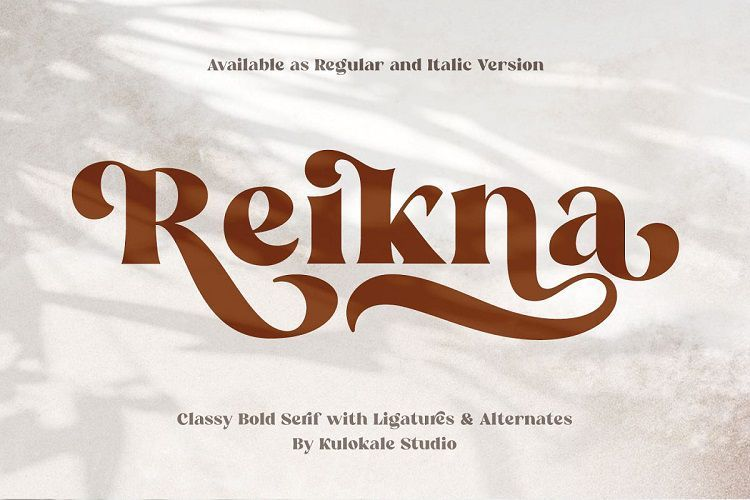 Reikna-Classy-Bold-Serif