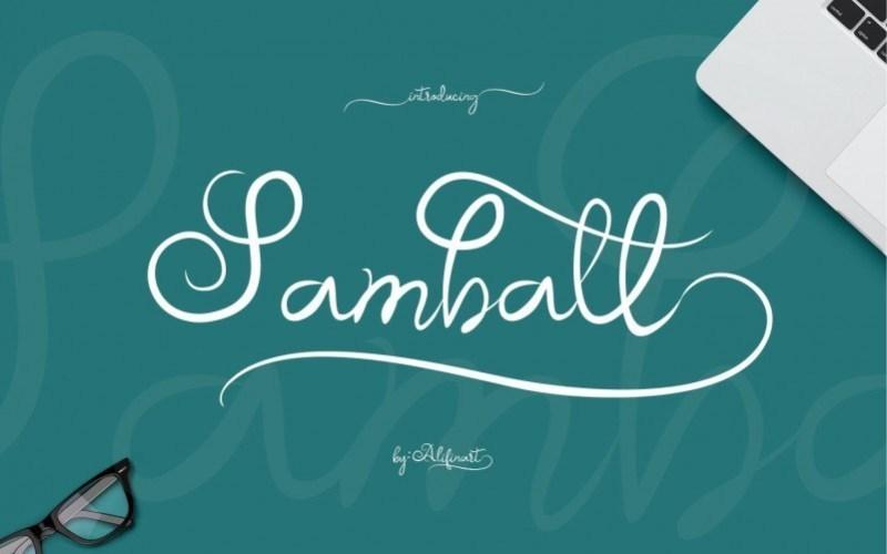 Samball-Script-Font-1