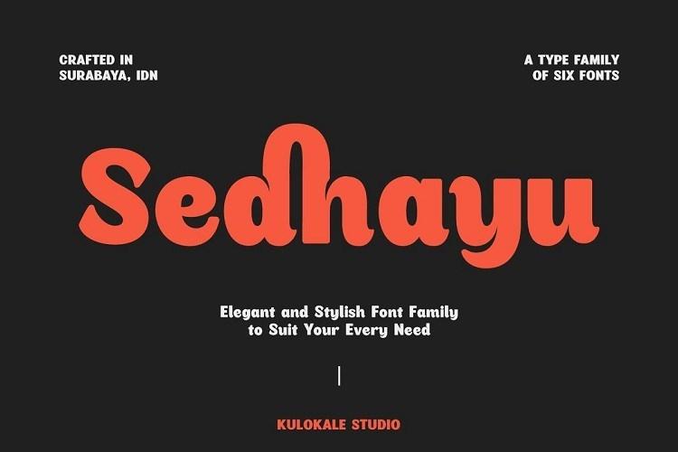 Sedhayu-Font-Family-1