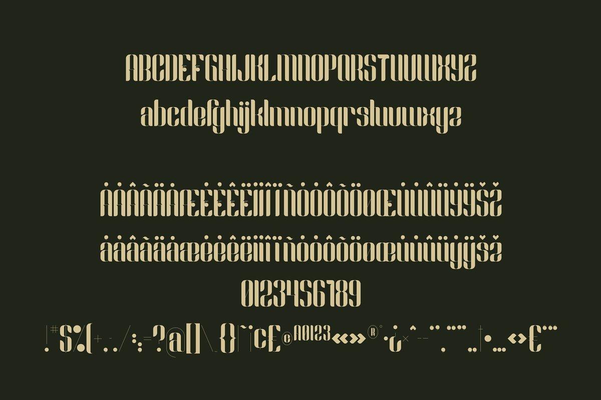 Slang-Ligature-Font-3