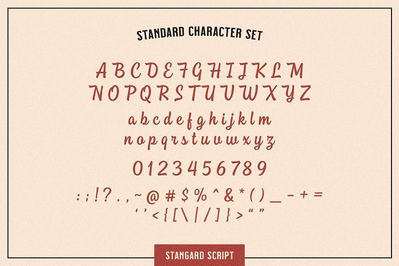 Stangard-Handbrush-Font-3