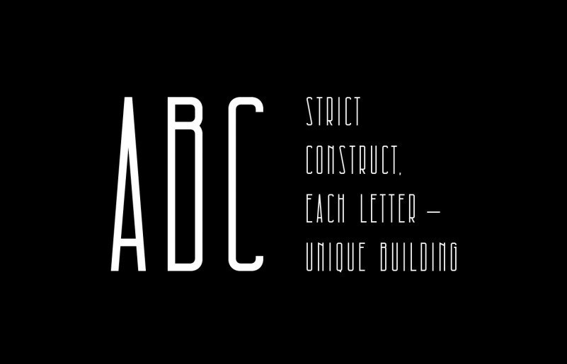 architectural-free-font-2