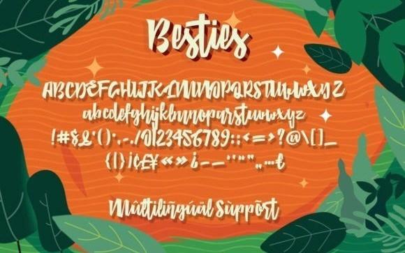 besties-font-3