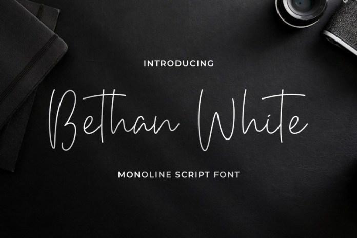 bethan-white-font