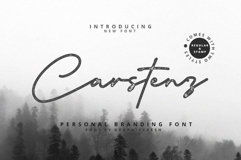 carstenz-vintage-script-font