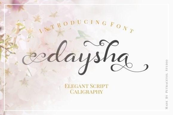 daysha-font-1