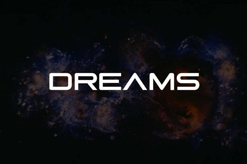 dreams-space-font