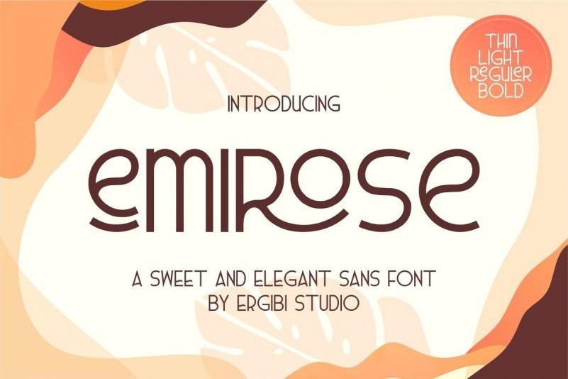 emirose-font-1