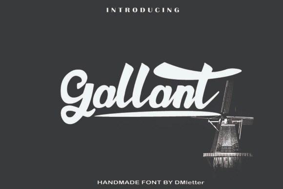 Gallant Script Font