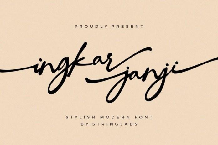 ingkar-janji-font