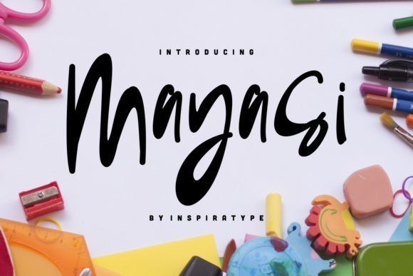 Mayasi Script Font