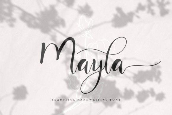 Mayla Script Font