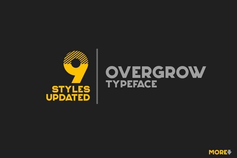 overgrow-typeface