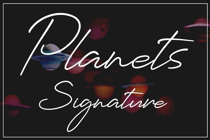 planets-signature-font