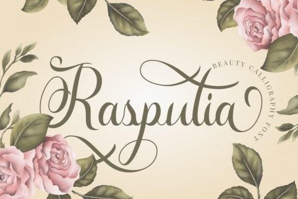 Rasputia Calligraphy Font