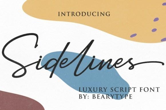 sidelines-font-1