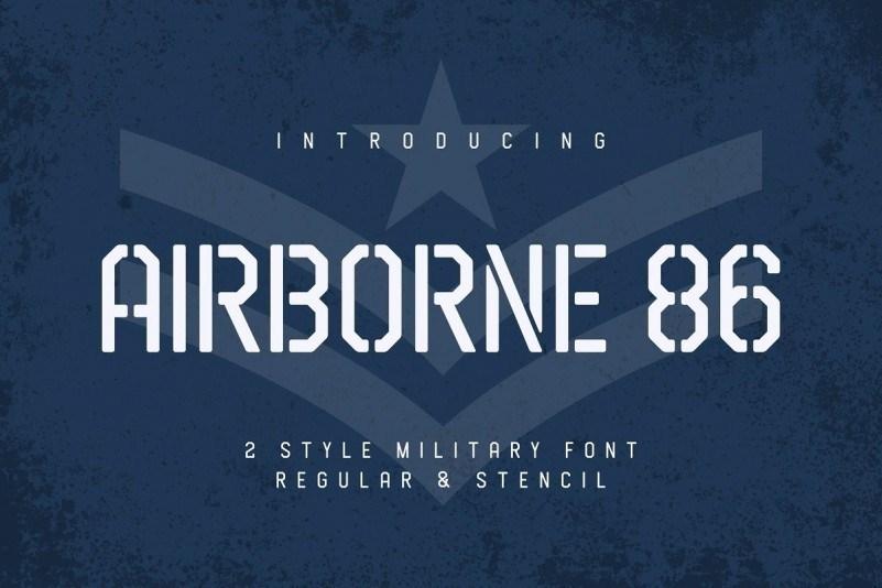 Airborne-86-Sans-Military-Font-1