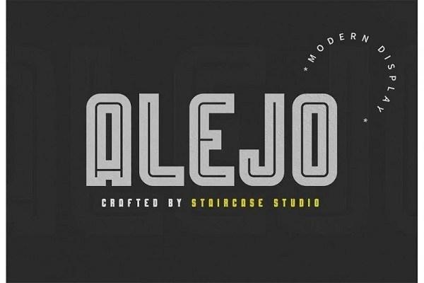 Alejo Display Font
