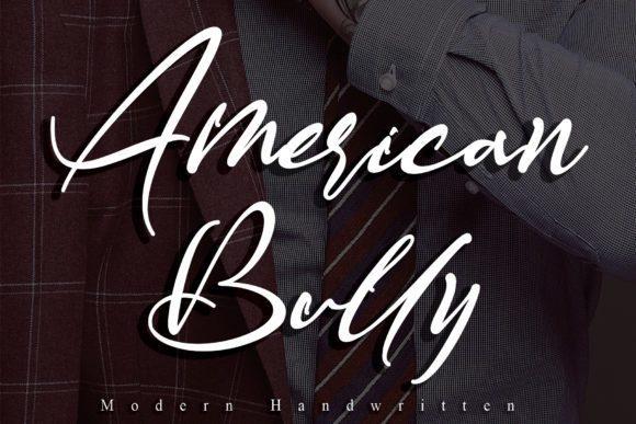 American Bully Handwritten Font