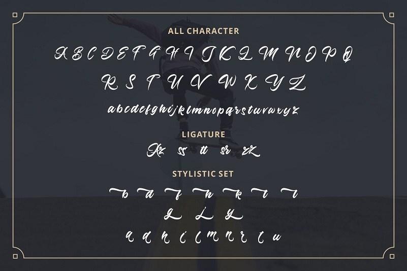 Azingdar-Retro-Bold-Script-Font-3