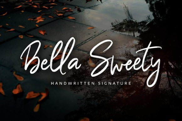 Bella Sweety Pen Brush Font